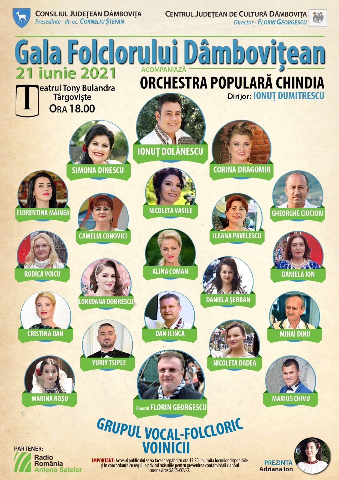 Gala folclorului dâmbovițean