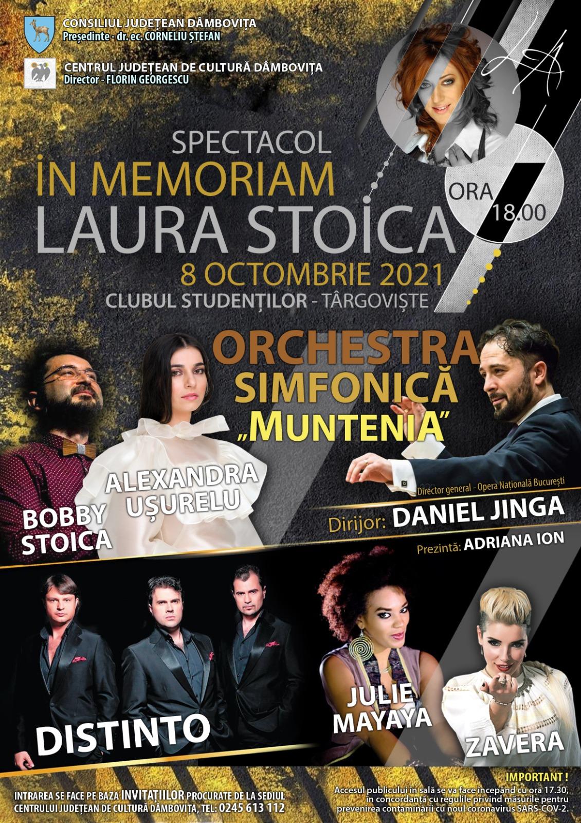 """""""In memoriam Laura Stoica"""""""